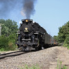 Nickel Plate 765 at East Moline, Illinois