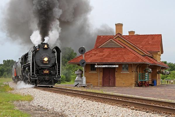 Train Festival 2011 in Rock Island (Illinois)