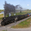 Nickel Plate 765 approaches Rock Island, Illinois