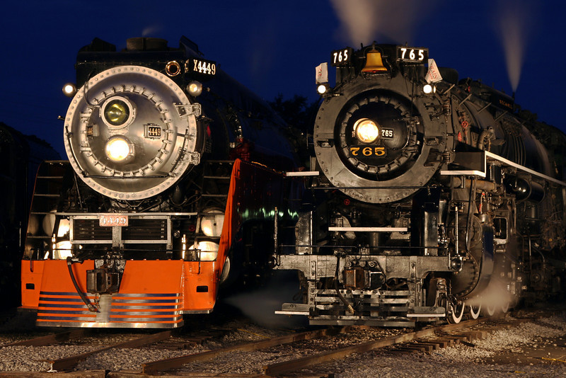 SP Daylight 4449 & Nickel Plate 765