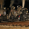 Little River 1, Little River 110, Pere Marquette 1225, Nickel Plate 765 & Leviathan 63