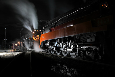 Nickel Plate 765 & SP Daylight 4449