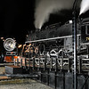 Pere Marquette 1225, SP Daylight 4449 & Nickel Plate 765