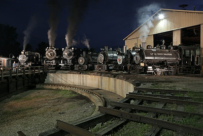 Little River 110, Pere Marquette 1225, Nickel Plate 765, Lehigh Valley Coal 126, Little River 1, Viscose 6 & Flagg Coal 75