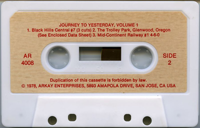 Arkay_Journey-To-Yesterday_Vol-1_cassette-side-2