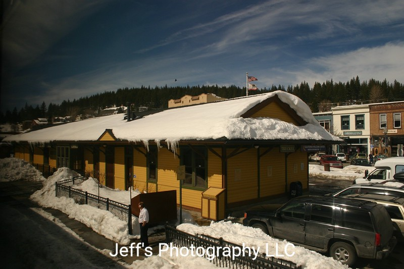 Amtrak Truckee Passenger Station