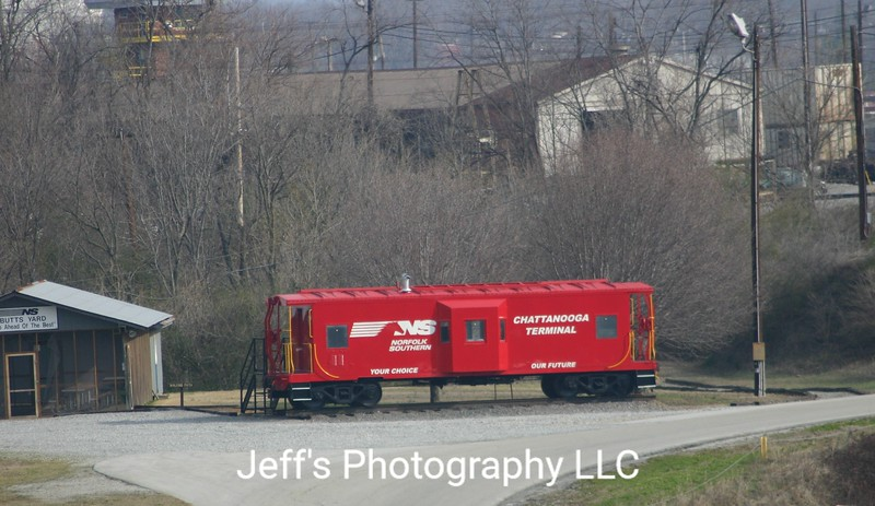Norfolk Southern Debutts Yard Caboose Office - Chattanooga, Tennessee