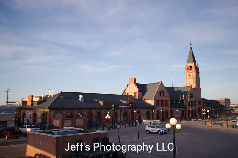 Union Pacific Railroad Depot - Cheyenne, Wyoming