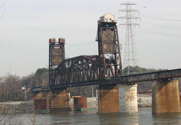 Norfolk Southern Tennessee River Lift Bridge - Chattanooga, Tennessee