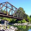 Abandoned Railroad Bridge from below