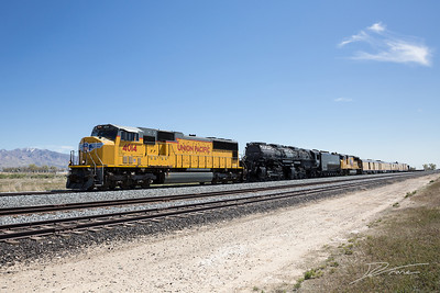 Big Boy UP 4014 through Lynndyl, Utah
