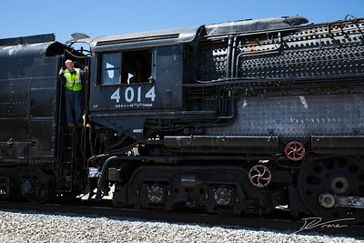 Big Boy UP 4014 Conductor