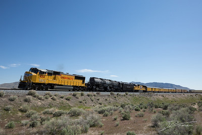 Big Boy UP 4014 through Jericho Junction