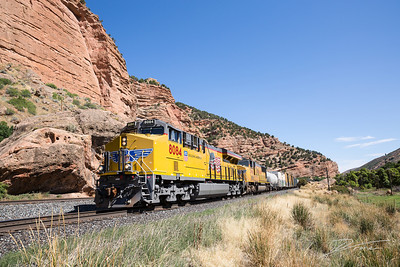 Train Through Echo Canyon