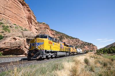 Train Through Echo Canyon
