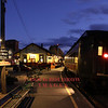10-22-10, The Valley Railroad is shown running during the evening for the Haunted Halloween Train.