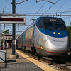 Amtrak Acela Express tears through Sharon Station, 5-24-18.