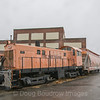 This Alco S-6 was originally built for the Southern Pacific.and made its way to Massachusetts in the 1970s. The locomotive has not run for a few years but thanks to employees that care about the company's history it has been saved from the scrap pile. It sits inside the yard at Fore River. Photo taken on 1-6-19.