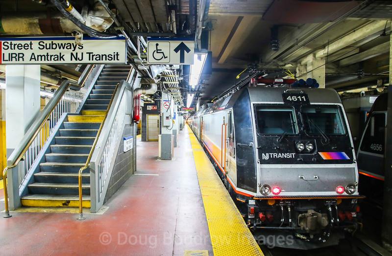 New Jersey Transit at Penn Station, 11-3-17.