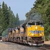 Westbound intermodal at Colfax, 8-17-21.