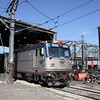 "Amtrak #932, an AEM-7 ""Sweedish Meatball"" at New Haven, 8-29-10."