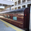 """Private coaches on the southbound """"Vermonter"""" pass through New Haven, 8-29-10."""