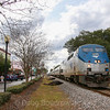 "Amtrak ""Silver Star"" at Plant City, 2-7-18"
