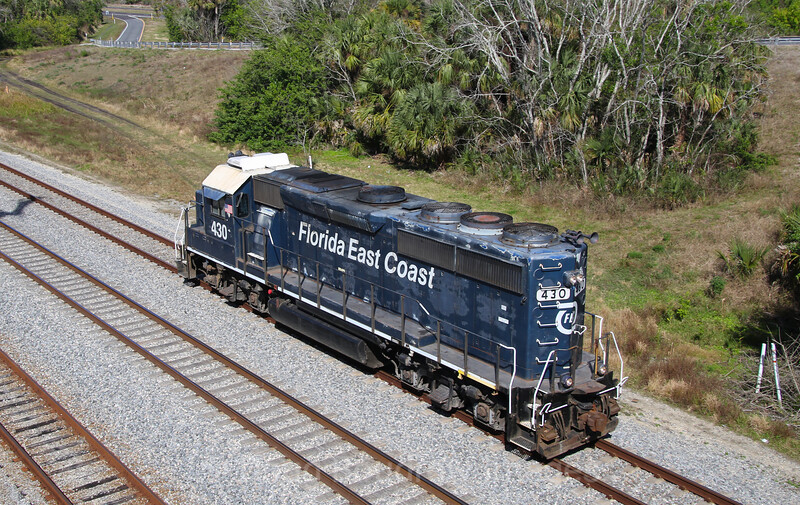 Florida East Coast at Titusville, 2-6-18.