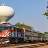 Metra at La Grange, 9-14-18.