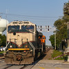 BNSF power move at La Grange, 9-14-18.