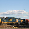 CSX  power is tied down in the West Springfield Yard waiting for its next assignment, 10-6-14.