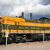 This 1942 built EMD NW3 is the last of its kind surviving. A total of seven of these locomotives were built for the Great Northern Railway between 1939 and 1942. This survivor is in display in Whitefish, MT by the Amtrak (originally Great Northern) depot, 9-24-19.