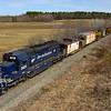 Pan Am Wreck Train at Madbury, 3-31-20.