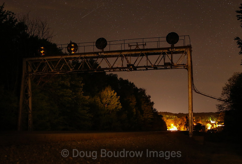 The now exttinct color position light signals at Lilly, 5-21-19.
