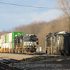 A meet of two trains at Cresson, 4-4-17.