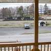 View from the porch of the Station Inn in Cresson, 4-3-17