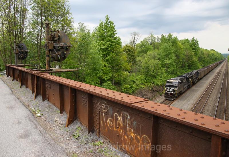 Jamestown Road Bridge in Portage, 5-23-19.