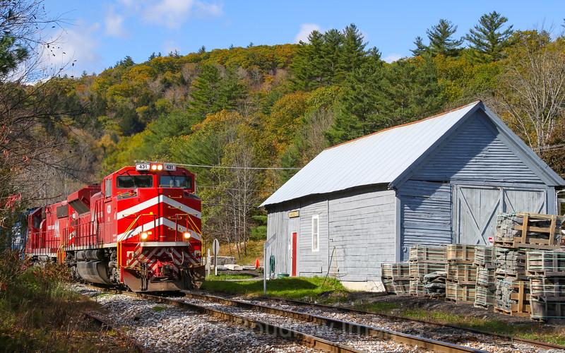 GMRC Slurry Train 263 at Gassetts, 10-20-18.