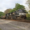 Westbound empty coal drag at Elliston, 5-6-16.