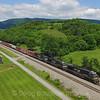 Eastbound manifest train 18M passes through Lafayette, Virginia headed for Linwood, North Carolina. 5-26-17.