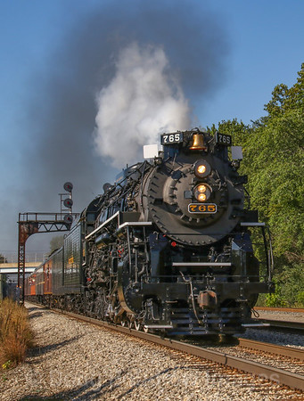 "Nickel Plate Road 765 ""Joliet Rocket"" 9-2018"