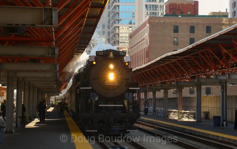 """The """"Joliet Rocket"""" in Chicago, 9-16-18."""