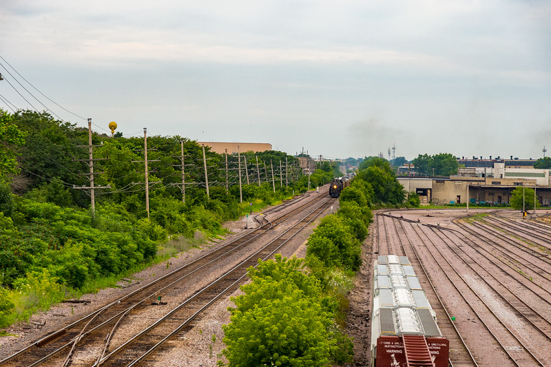 Mitchell Yard is off to the right.