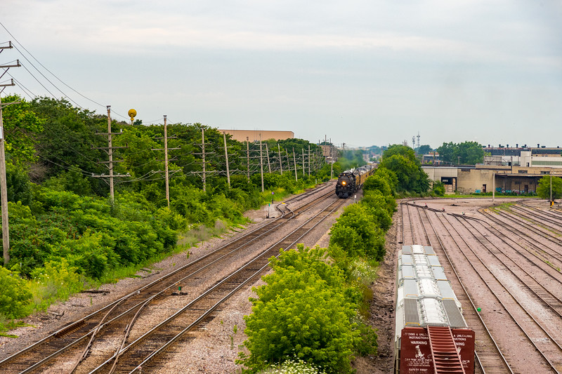 Mitchell Yard is a former Chicago North Western train yard now owned by Union Pacific,
