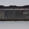 Accurail 3-bay offset coal hopper.  Atlantic Coast Line