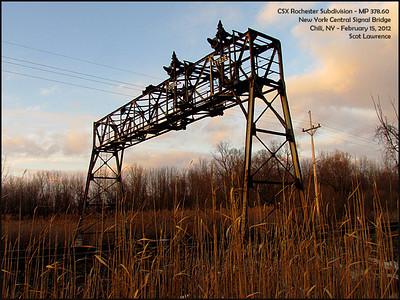 CSX Rochester NY Signal Bridges