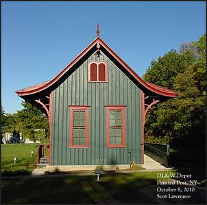 DL&W Pagoda Depots