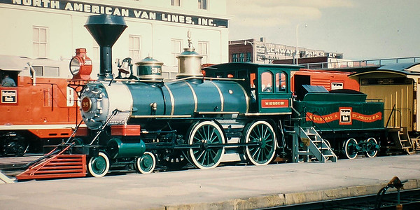 steam engine in lincoln 1965