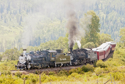 Cumbres and Toltec Railroad August 2008