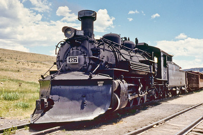 Cumbres and Toltec Railroad about 1990